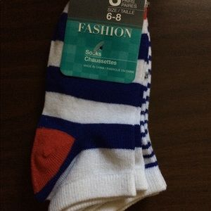 Other - KIDS 3 PAIRS STRIPED SOCKS